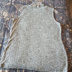 Chicos Turtleneck Sleeveless Sweater